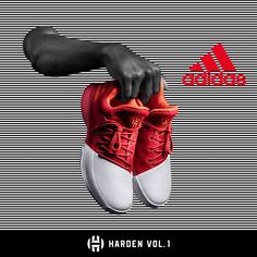 timeless design 2a017 157fc 1 - Boys  Preschool - James Harden - White   Black  Wake the game up with  the newest adidas Harden Vol. 1 colorway.