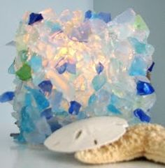 Seashell and Seaglass Creations by Beach Grass Cottage -Win a $40 Gift Certificate!/ complete DIY website!!!
