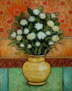 Artist Mark Briscoe, original impressionist landscapes, expressionist paintings..,, photo redroom-1.jpg