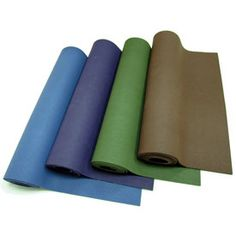 We are as conscious of our carbon footprint as our customers, which is why the environmentally friendly folks at Yoga Accessories developed the Natural Rubber Yoga Mat! This mat is non-toxic, biodegradable, and recyclable -- made from sustainable rubber trees and naturally PVC and latex-free.