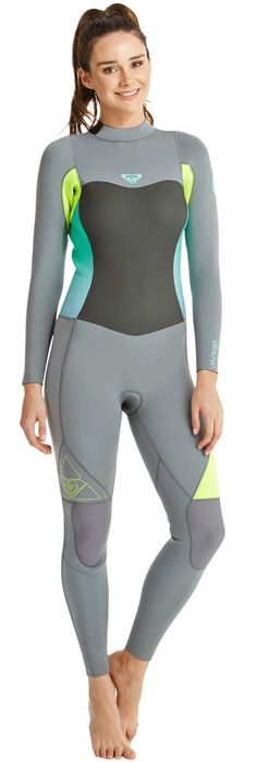 5 4 3mm Women s Roxy SYNCRO Full Wetsuit Diving Suit 444191f2909