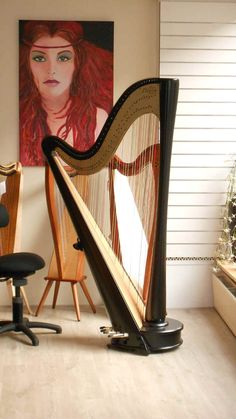 pedal harp with some small Harps Celtic Women, Low Key, Pilgrim, Musicals, Addiction, Instruments, Aesthetics, Play, Inspiration
