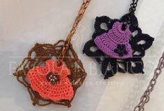 Handmade Bijoux and Accessories - Collane realizzate a mano all'uncinetto
