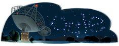 Parkes Observatory's Anniversary – (Australia) Google Icons, Art Google, Google Doodles, Halloween 2014, Happy Halloween, Information Art, World Cup 2014, 90th Birthday, Halloween