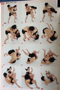 AnatoRef — Moment continuous shooting action poses 03 heroine...