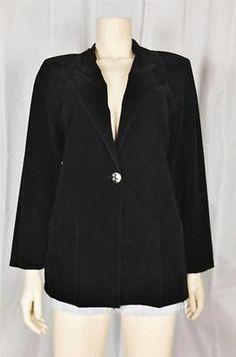 f2896d07d9e268  7 Vintage Retro 70s black velvet oversize blazer jacket Oversized Blazer