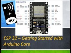 ESP32 - Getting Started with Arduino Core - YouTube