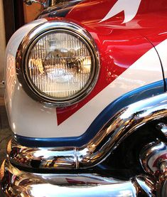 Red, White & Blue Buick...we can paint this! :)