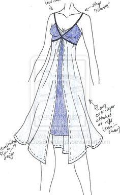 MISCcd - Fairy Nightgown by LoveLiesBleeding2 on deviantART