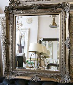 Miroir classique , 6 tailles, 6 couleurs. - Typical English Decorations & grands miroirs