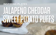 Jalapeño Cheddar Sweet Potato Puffs [Video] | Recipe