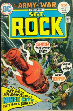 Sgt. Rock - Our Army at War #279 (April 1979) - Cover by Joe Kubert