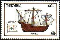 Sello: Pinta (Tanzania) (Age of Discovery) Mi:TZ 627