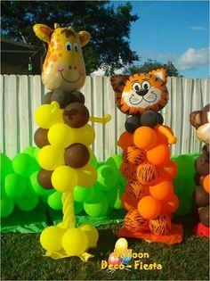 Girafa y tigre