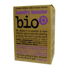 The Bio-D Company - Ethical, Hypoallergenic and Environmentally Friendly Cleaning Products Safe Cleaning Products, Odor Remover, Biodegradable Products, Whitening, Household, Laundry, How To Remove, Green, Laundry Service