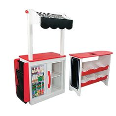 Let's Play Store: Kids Pretend Store/Toy Grocery Stand