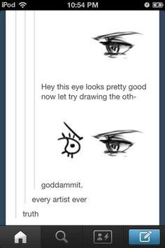 So true! Artist Problems...