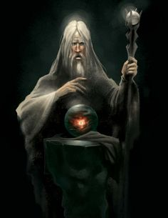 Saruman by malara-art on DeviantArt