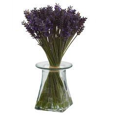 Lavender Silk Flower Arrangement Bundle with Vase Artificial Flowers Silk Flowers Vases Decor, Plant Decor, Centerpieces, Faux Flowers, Silk Flowers, Silk Plants, Silk Flower Arrangements, Water Flowers, Artificial Plants