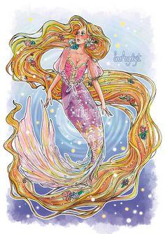 Disney Princess Art, Disney Princesses, Disney Characters, Male Fairy, Raven Queen, Designs To Draw, Drawing Designs, Mermaids And Mermen, Merfolk