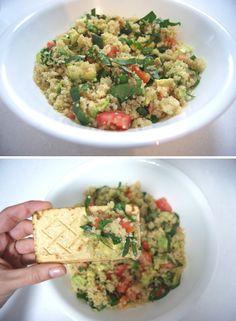 Receta: Quinoa para Lunes sin Carne