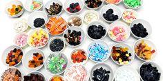 Så godt er det sunne godteriet. Smakspanelet og ernæringsfysiologen har bedømt 36 typer «sunt» godteri.