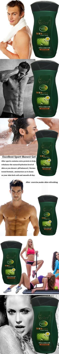 Oil-Control Moisturizing Skin Care Shower Gel  Deeply Cleaning After Sport Body Fell Refresh 260 ML Free Shipping