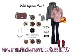 """Magnolia and Vine Jewellery and Accessories can pull together ANY OUTFIT!! email me at robertapearson@hotmail.com for more info or check out my page at www.facebook.com/mymagnoliaandvinerobbikirk   """"Magnolia and Vine Cool Mom Burgundy"""" by magnoliaandvine on Polyvore"""