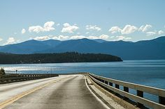 Lake Pend Oreille Scenic Byway - Idaho. Like this picture? Click the picture to check out more gorgeous Idaho photos, chic trends, news, and recreation in the official Idaho Google+ Community.  http://idaho.for91days.com/2012/10/30/the-pend-oreille-scenic-byway/