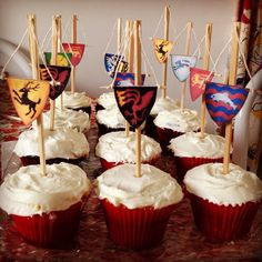 How to Make Game of Thrones Cupcakes
