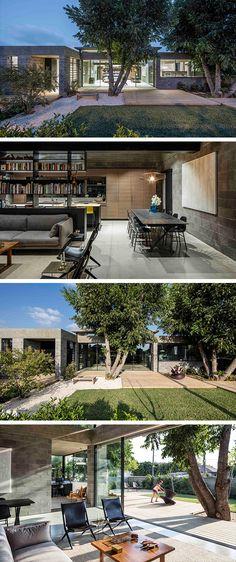 Bare House by Jacobs Yaniv Architects in Herzliya,…