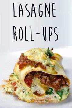 Lasagne Roll-Ups