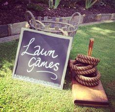 Fun lawn games for backyard parties!