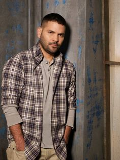 """Guillermo Diaz - Scandal """"Huck"""". Such a dark character. Makes him even more appealing."""