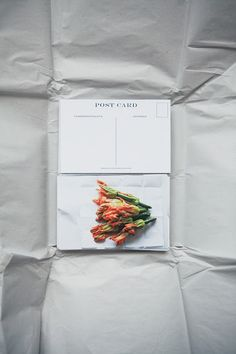 edible flowers & thank you note. by Young & Hungry. via kee