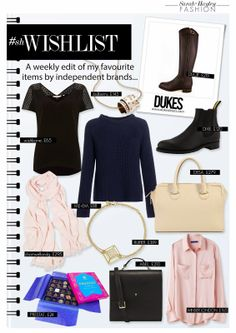 ONE - The - A weekly edit of my favourite items. Fashion Beauty, February, Posts, Lifestyle, My Favorite Things, Blog, Messages, Blogging