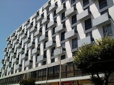 ARTE Y ARQUITECTURA (ART AND ARCHITECTURE): Edificio Italia, arquitectura moderna en Viña del Mar, Chile, arquitectos Jaime Kulczewski, Jaime Larraín y Osvaldo Larraín