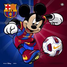 Mickey Barcelona