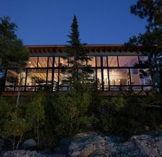 Seattle architect Nils Finne has redefined the coastal home, taking it from rustic to rich in this lake cabin design – a beauty on Lake Superior at Eagle Cabin Design, House Design, Summer Cabins, Modern Lake House, Lake Cabins, Wood Cabins, Modern Exterior, Exterior Design, Lake Superior