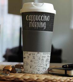 Mockup gratuito de copo de café - IDEAGRID _01