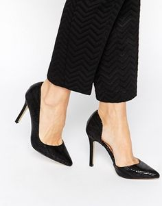 Enlarge Head Over Heels By Dune Clariss Pointed Heeled Pumps