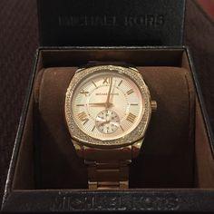 Brand new gold Michael Kors watch. No scratches or marks, brand new. Michael Kors Jewelry Bracelets