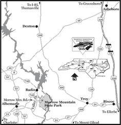 Morrow Mountain State Park, near Albemarle
