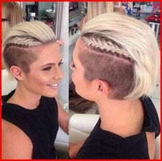 Shaved Hair Designs for Women, Have you seen the latest trend of undercut hair designs for women? For ladies who like bringing something new and different hair ideas to the table, . Short Shaved Hairstyles, Undercut Hairstyles, Short Hairstyles For Women, Trendy Hairstyles, Girl Hairstyles, Braided Hairstyles, Wedding Hairstyles, Hairstyles Haircuts, Medium Hair Styles