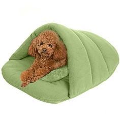 71680ce2f4f Pet Cave Soft Cozy Sleeping Bag Bed Mat for Small Dog Cat Rabbit Ferret  Guinea Pig