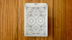 A completely designed deck of cards from front to back. You can visit the products website here: http://misc-goods-co.com/