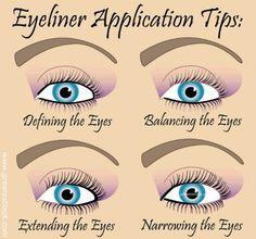 Eyeliner Tricks & Tips ♥✤   Keep the Glamour   BeStayBeautiful