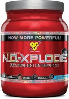 BSN N.O.-XPLODE 2.0 - Blue Raz, 2.48 lb (50 Servings) - For Sale Check more at http://shipperscentral.com/wp/product/bsn-n-o-xplode-2-0-blue-raz-2-48-lb-50-servings-for-sale/