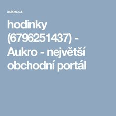 hodinky (6796251437) - Aukro - největší obchodní portál Portal, Pandora