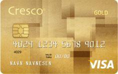 Cresco Gold kredittkort VISA Gold